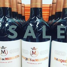 Save over $8 a bottle on 2010 Marques de Murrieta Reserva Rioja , a HUGE staff favorite. Its on sale for $17.99 bottle or $197.88 by the case.  One of the amazing Summer sale wine deals. #wine #sut#surdyks #surdykswinesale Wine Sale, Summer Sale, Vodka Bottle, Liquor, Amazing, Instagram Posts, Alcohol, Liqueurs, Beverage