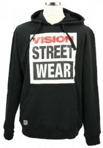 Vision Street Wear Hoody Men black.