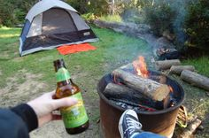 Solo Camping 101 - a couple practical tips and a few good reminders.