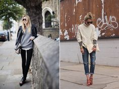 Spotted: Cable Knit Sweaters