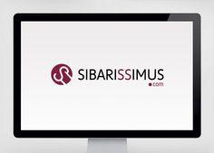 """Diseño de logotipo para Sibarissimus.com, una tienda on-line donde se pueden adquirir productos de primera calidad como jamón ibérico, embutidos, vinos, queso, etc... El logo utiliza la forma de la inicial para crear un sobrero de Chef, de esta manera incidimos en la calidad """"gourmet"""" de los productos que se venden aquí. Para crear ese sombrero simplemente hemos girado la S y le hemos añadido un par de líneas paralelas."""
