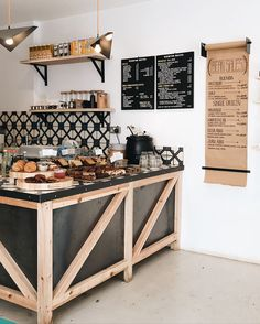 Bread shop decoration ideas for 2019 Cafe Seating, Restaurant Seating, Restaurant Design, Restaurant Restaurant, Café Design, House Design, Interior Design, Design Shop, Coffee Shop Counter