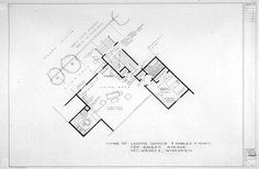 Floor Plan for the home of Laverne Difazio and Shirley Feeney