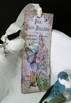 Dainty and Delicate Fairy Ballad Bookmark by Heartmadelinensgifts on Etsy