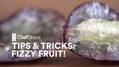 ChefSteps Tips & Tricks: Fizzy Fruit • Best party trick ever: Serve your guests a bunch of carbonated satsuma oranges, raspberries, or grapes. Watch as they start snacking on AMAZING FIZZY FRUIT. Click for the technique: http://chfstps.co/1hwNZ2r