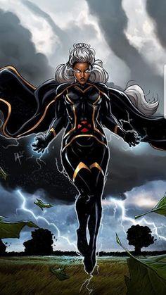 Mcu Marvel, Marvel Comic Universe, Marvel Heroes, Storm Xmen, Storm Marvel, Black Panther Storm, Black Panther Marvel, X Men Personajes, Female Superhero
