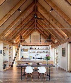 오두막집을 현대적으로 해석했다! 자연과 함께하는 감각적인 단층 주택 : 네이버 포스트