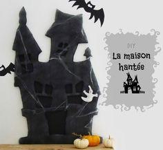 diy maison hantee halloween ghost