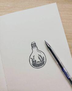 "58 Likes, 1 Comments - @wei_love11 on Instagram: ""Plants in bulb #plant #doodles #plantlover #plantaddict #plantdoodles #artwork #artist…"""
