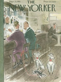 The New Yorker - Saturday, September 22, 1951 - Issue # 1388 - Vol. 27 - N° 32 - Cover by : Leonard Dove