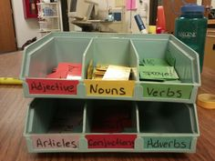 Here's an interactive way to teacher sentence structure! Let students pick cards to create their own sentences. Have students match cards to words/pictures, or even use the cards to learn parts of speech. https://www.pinterest.com/pin/187180928240701669/