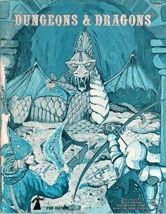 Dungeons & Dragons® —    Rules for fantastic medieval role playing adventure game campaigns    by Gary Gygax and Dave Arneson    Random House1974 / 1979