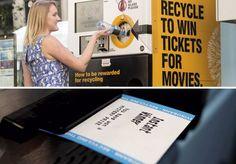 Máquinas que trocam materiais por recompensas são um jeito diferente de incentivar as pessoas a reciclar, inclusive postamos há algumas semanas uma que ajuda a alimentar cães e gatos de rua ao mesmo tempo que estimulam a reciclagem (relembre aqui). Na Austrália, agora existe uma máquina onde quem recicla ganha convites para eventos e vales-refeição. As máquinas instaladas funcionam de forma muito fácil. Qualquer um pode contribuir, bastando apenas depositar uma latinha ou garrafa plástica…