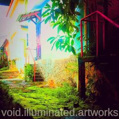 Colors of life.  Photo from the Instacanvas gallery of void_illuminated_artworks.