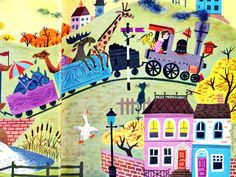 French childrens book illustration