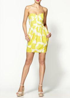 Shoshanna Jane Sunflower Dress