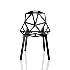 stackable geometric pattern chairs #furniture