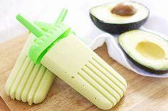 Hass Avocado Creamsicles.  Delicious non-dairy summer treat.