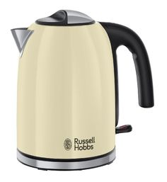 Russell Hobbs 20415 Colours Plus Kettle, 3000 W, 1.7 Litre, Cream