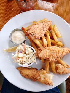 Gluten Free Heaven at Bridgewater Bistro, Astoria, Oregon (FISH AND CHIPS!!!!)