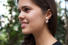 Diy Dior Inspired Double Pearl Earrings By Apairandaspare