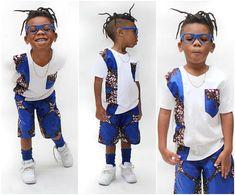 Taille a la valeur True -Design t shirt avec poches Courte longueur 18 mois - longueur 9 24 mois - longueur 10 2/3 T - 12 4/5 - 14» Baby African Clothes, African Dresses For Kids, Latest African Fashion Dresses, African Print Fashion, Africa Fashion, African Shirts For Men, African Clothing For Men, African Attire, African Wear