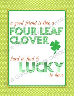 Eye Candy Event Details St. Patty's Day Printable 2