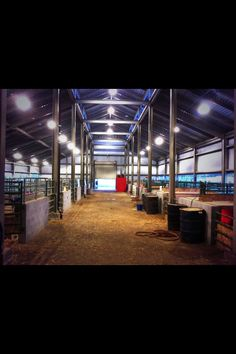 Perfect barn for show cattle!