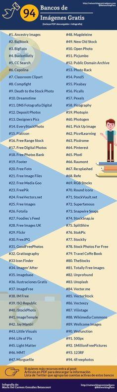 94 Bancos de Imágenes Gratis: la lista más completa│@NetworkingParo | Contar con TIC | Scoop.it