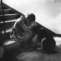 Antanas Sutkus - Lithuanian photographer and recipient of the Lithuanian National Prize and Order of the Lithuanian Grand Duke Gediminas. He was one of the co-founders and a President of the Photography Art Society of Lithuania. [from Wikipedia] Born June Dog Love, Puppy Love, Mans Best Friend, Best Friends, True Friends, Adorable Petite Fille, Art Society, Stop Animal Cruelty, Claude Monet