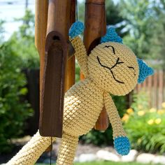 $3.00 - Cute Cotton Kitty - Ravelry.com -   Karla Fitch's Ravelry Store