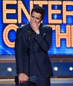 Luke Bryan #entertaineroftheyear made me cry!  #hottestmanincountrymusic just love him!