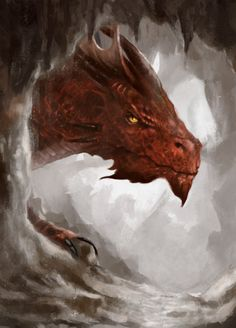Look, a dragon << Fool! this is not just a dragon! this is Smaug!