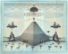 Signed, Printed on archival acid free paper using aqueous archival inks. Architecture Drawing Art, Geometry Art, Ancient Aliens, Science Art, Art Drawings, Mystery, Aqua, Kids Rugs, The Incredibles