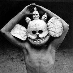 tibetan death mask