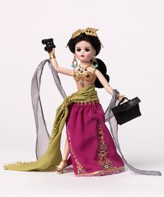 Madame Alexander Mata Hari, Woman in History Doll - Women of Fashion & History