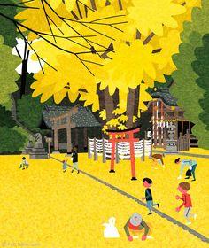 The Poolga Blog - Ryo Takemasa illustration
