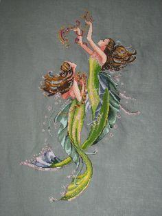 mirabella cross stitch | Mermaids ~ Mirabilia Cross Stitch