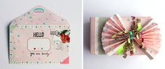 Creative Wrapping idea with Cute Collection from kikki.K, stationery, wrapping, stickers, stamps, sticky tape, twine