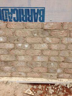 Brick - Nottingham  Mortar - anti / buff