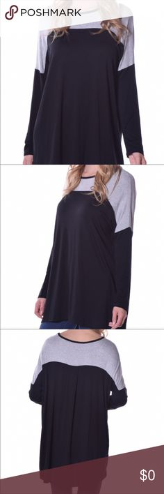 Soft Cozy Long Sleeve Tunic Soft, casual and easy Tops Tunics
