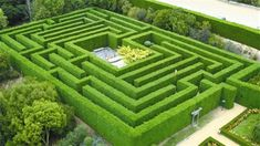 Hedge Maze at Arthurs Seat The Enchanted Adventure Garden in Mornington Peninsula Victoria Australia Garden Hedges, Topiary Garden, Garden Paths, Terrace Garden, Labyrinth Design, Labyrinth Maze, Enchanted Adventure Garden, Enchanted Maze, Amazing Maze