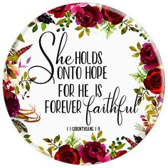 Bible Verse She Holds Onto Hope, Bible Quotes, 1 corinthians Bible Verses Quotes, Bible Scriptures, Faith Quotes, Jesus Christus, Favorite Bible Verses, Gods Grace, Christian Inspiration, Faith In God, God Is Good