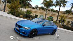 Voltage Blue (CW/R89.62X): profonda ed intensa passione. Voltage Blue (CW/R89.62X): deep and intense passion. #selfadhesive #apastickers #apafilms #apafolie #apavinyl #voltageblue #mattblue #mattvinyl #carfoil #carwrap #carwrapping #ilw #ilovewrapping #apainside