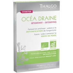 Thalgo Océa Draine is a detox drink that encourages elimination of toxins and w… Body Detoxification, Slim Diet, Agriculture Biologique, Detox Tips, Detox Your Body, Organic Plants, Active Ingredient, Detox Drinks, Mixed Drinks