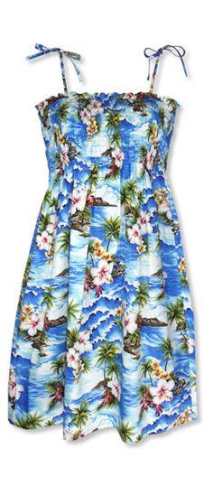 Liz's Hawaiian Dress :)