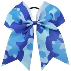 These big hair bows are perfect for your little girl. Need something to accent her ponytail? Blue Army, Army Green, 6 Year Old Christmas Gifts, Big Hair Bows, Purple Pillows, Head Accessories, Cheer Bows, Ribbon Bows, Green And Purple