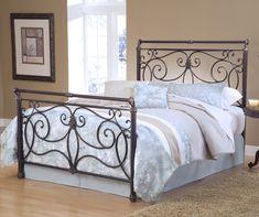 Hillsdale Brady Bed Set King Antique Bronze $579.00