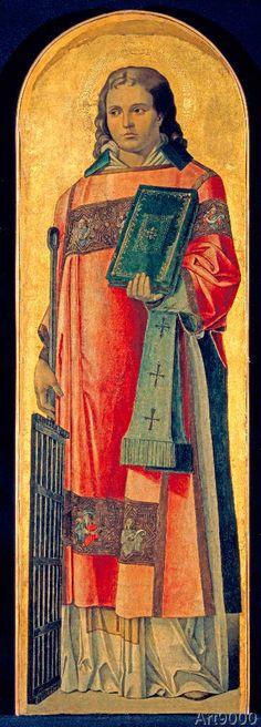 Lawrence x cm) Gerrit Dou, Venetian Painters, St Lawrence, Italian Painters, 15th Century, Les Oeuvres, Printmaking, Christianity, Renaissance