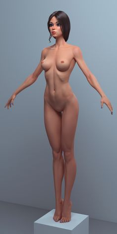ArtStation - Cartoon girl, female character, Roman Adamanov